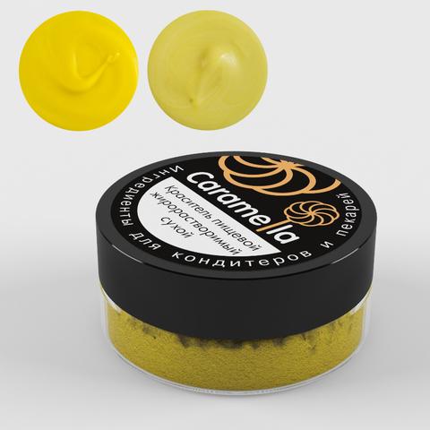 Caramella жиро-ый краситель,Яркий Желтый,10гр