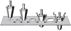Набор прецизионных свёрл для листового металла HSS № 118030 3-30,5 мм