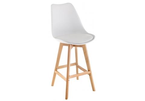 Барный стул Burbon белый