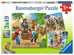 Puzzle Adventure on the High Seas3x49pcs