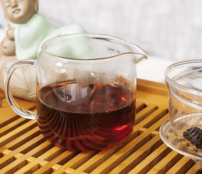 TEA-CH118 Китайский чай шу пуэр «Старые Чайные Головы» (Лао Ча Тоу, крупная фракция, 50 гр) фото 08