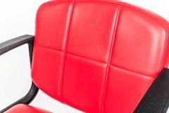 Парикмахерское кресло Стандарт гидравлика хром, пятилучье хром на подпятниках