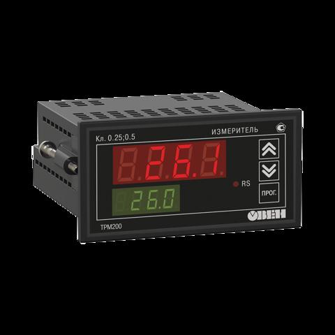 ТРМ200 двухканальный измеритель с универсальным входом и RS-485