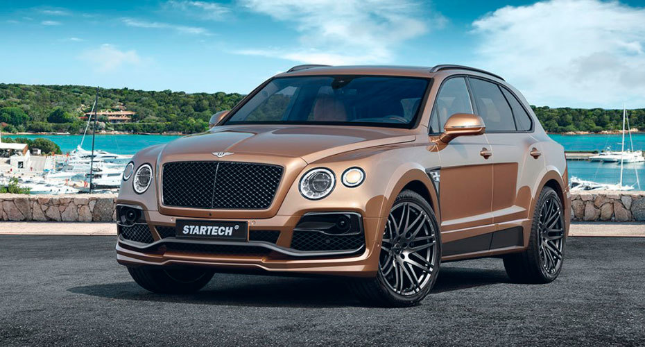 Обвес Startech для Bentley Bentayga