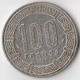 K7197, 1983, Центральная Африка Конго, 100 франков