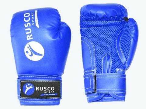 Перчатки боксёрские RUSCOsport, синие, 10 Oz: С-10
