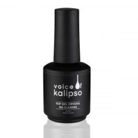 Voice of Kalipso Top Gel Crystal No Cleanse, 15 мл