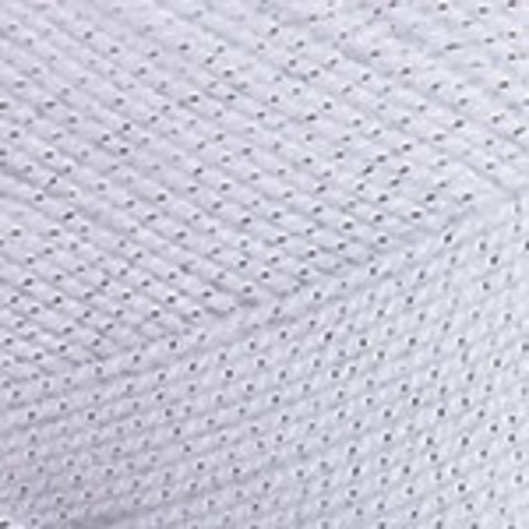 Пряжа Gold YarnArt 9051 Белый/серебро