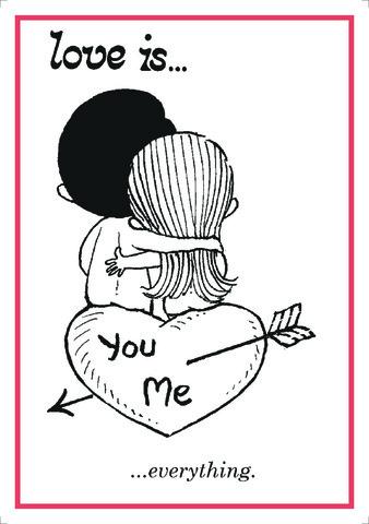 Açıqca\Открытки\Postcard Love is... 13