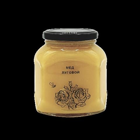 Мёд натуральный ЛУГОВОЙ, 500 гр