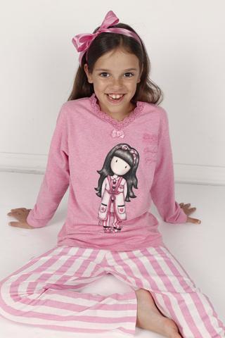 Пижама для девочки со штанами SANTORO 55580