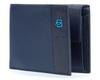 Кошелек Piquadro Pulse, синий, 13x9,5x2 см