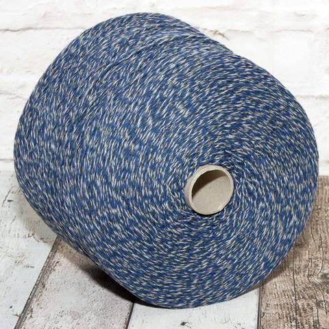 Мулине CASA DEL FILATO 4/15 синий с серым и белым
