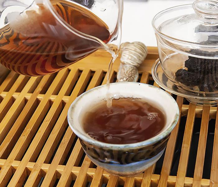 TEA-CH118 Китайский чай шу пуэр «Старые Чайные Головы» (Лао Ча Тоу, крупная фракция, 50 гр) фото 10
