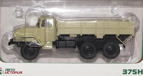 Модель Урал 375Н 6х6 бортовой 1974г.(ави100978