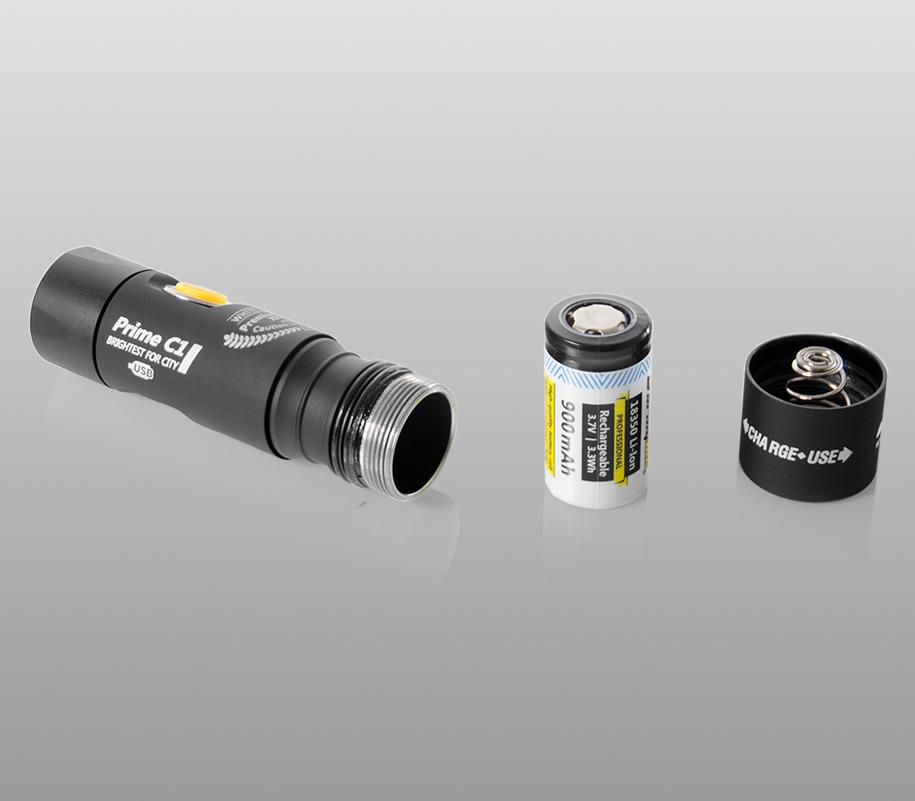 Фонарь на каждый день Armytek Prime C1 Magnet USB (тёплый свет) - фото 5