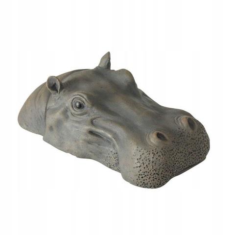 Фигура дек.плавающая Голова бегемота L30см