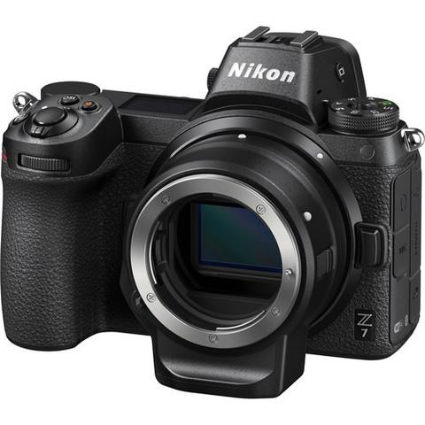Цифровой беззеркальный фотоаппарат Nikon Z7 Body с адаптером FTZ