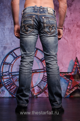 джинсы RAINE J208 STRAIGHT CUT JEAN Rock Revival