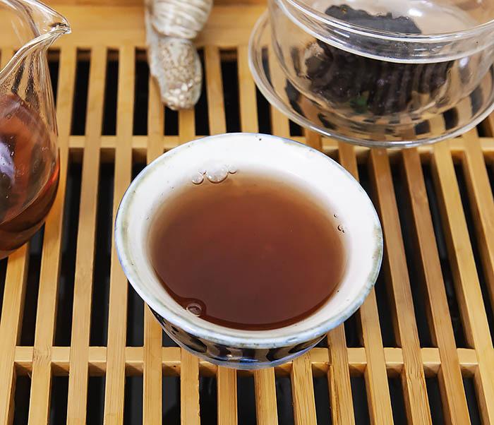 TEA-CH118 Китайский чай шу пуэр «Старые Чайные Головы» (Лао Ча Тоу, крупная фракция, 50 гр) фото 11