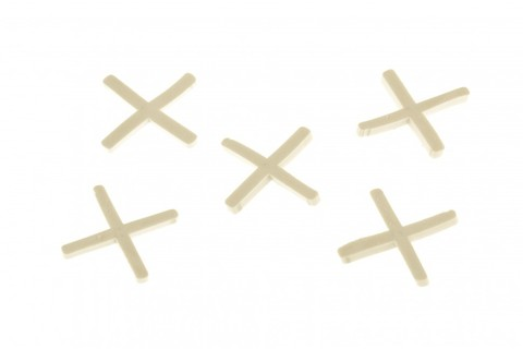 Крестики 2 мм, для кладки плитки, 100 шт Сибртех