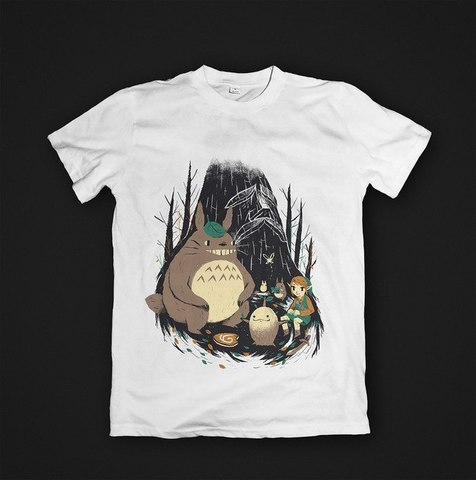 Футболка Totoro & Link - M