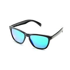 Очки солнцезащитные 2K FB6-12026 (чёрный глянец / зелёный revo)