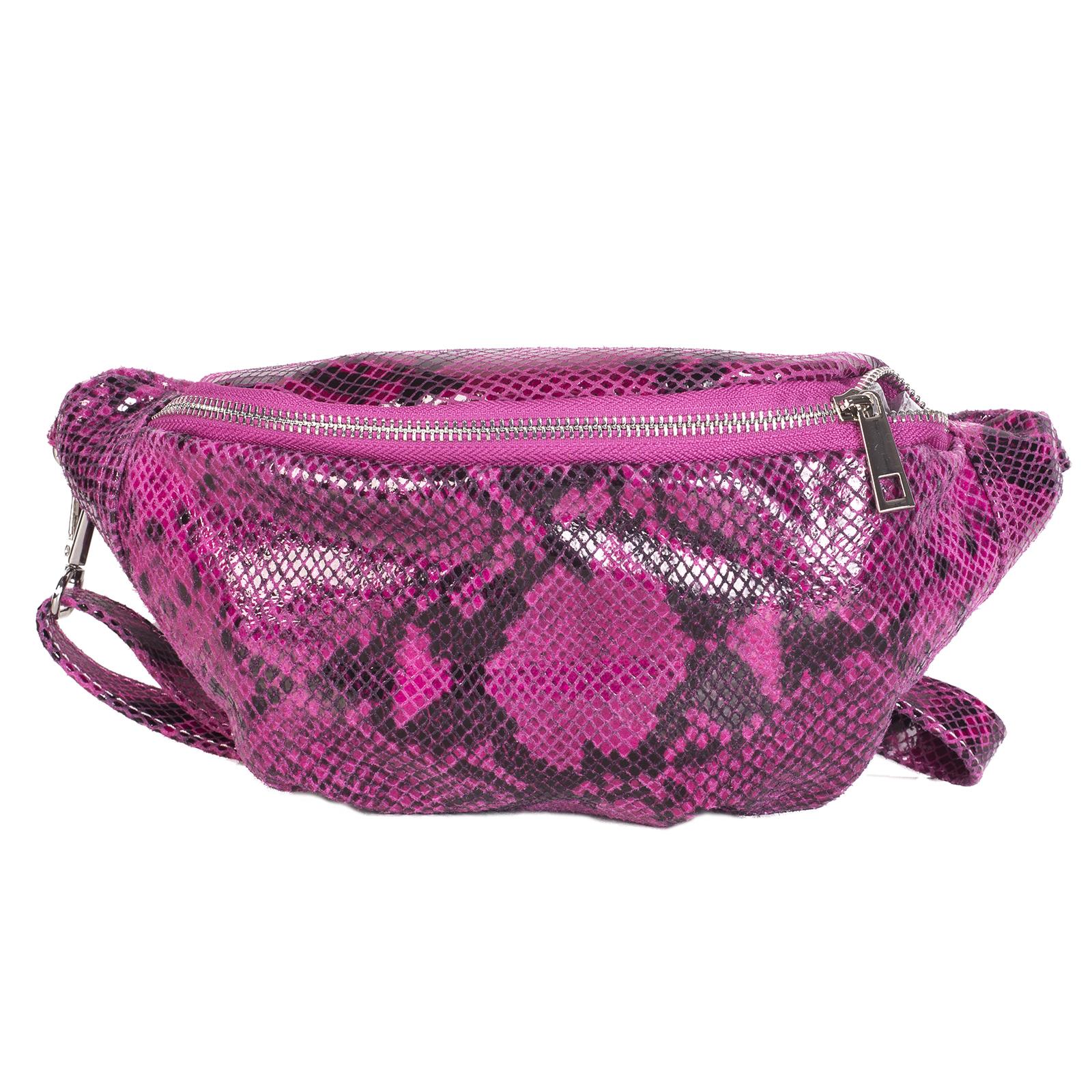 Fanny pack, UNO, Lauryn (пурпурный питон)