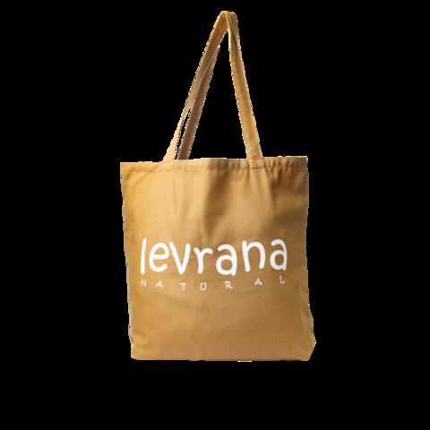 Эко-сумка коричневая   40x40 см   Levrana