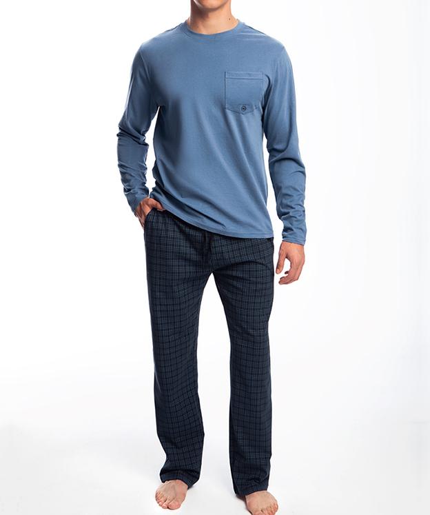 Пижама мужская с брюками NMP-338 100% хлопок