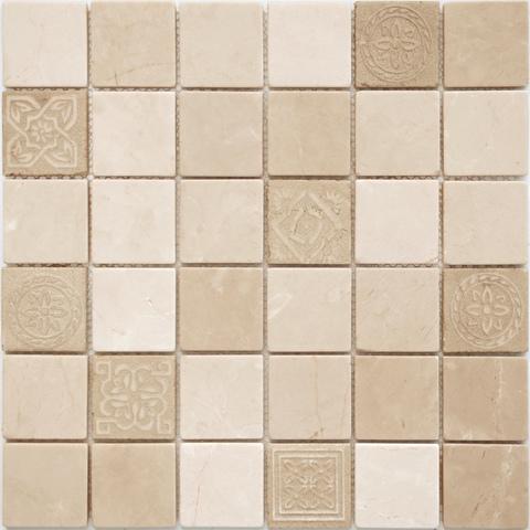 Мозаика LeeDo: Art Santa Anna матовая 30х30х0,8 см (чип 48х48х8 мм)