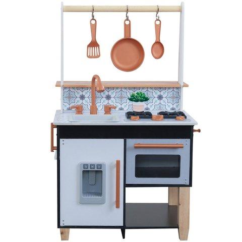 KidKraft Маленький шеф серый - детская кухня 53441_KE