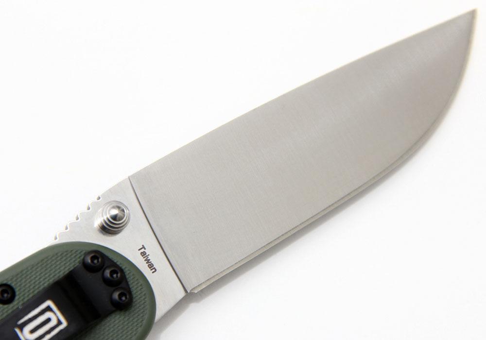 Нож Ontario Rat 1 ON8848OD зеленый - фотография