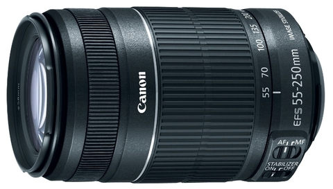 Canon EF-S 55-250mm f/4-5.6 IS STM (TAIWAN)