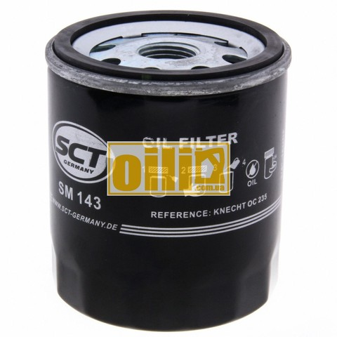 Фильтр масляный SCT SM143 (Ford, Toyota, Volvo)
