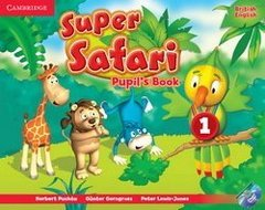 Super Safari 1 Pupil's Book with DVD-ROM