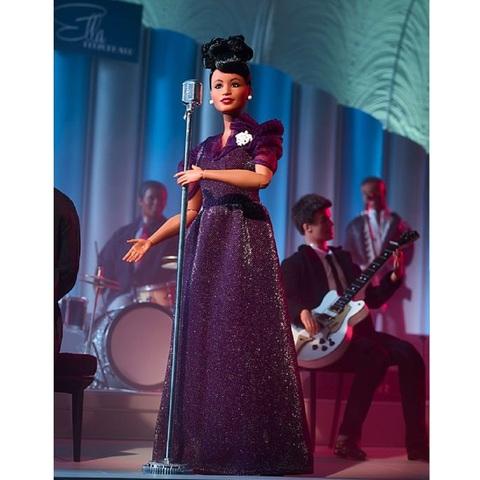 Барби Вдохновляющие женщины Элла Фицджеральд