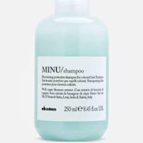 MINU/shampoo - Защитный шампунь для сохранения косметического цвета волос
