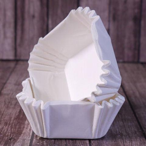 Капсулы для конфет белые, 35х35 мм,13 шт