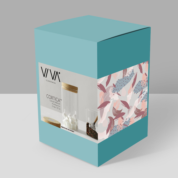 """Банка для сыпучих продуктов Viva Scandinavia """"Cortica"""" 1,1 л"""