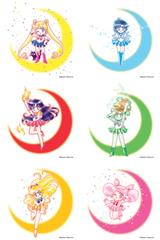 Коллекционный бокс Sailor Moon. Часть 1 (к томам 1-6)