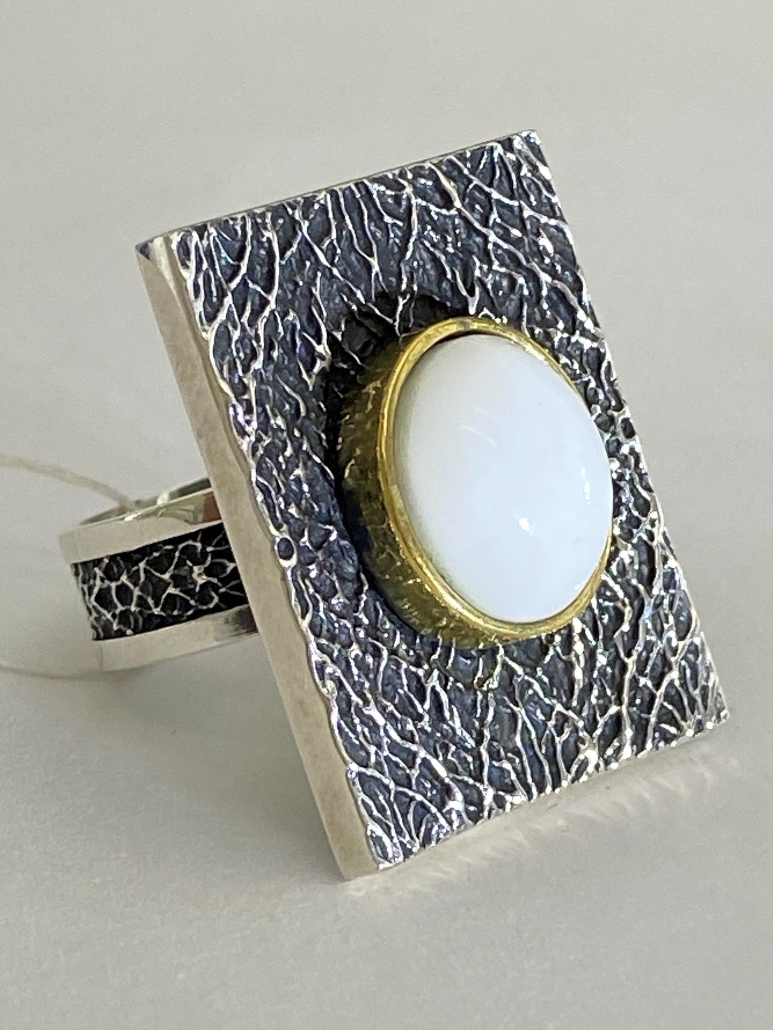 Нури (кольцо из серебра)