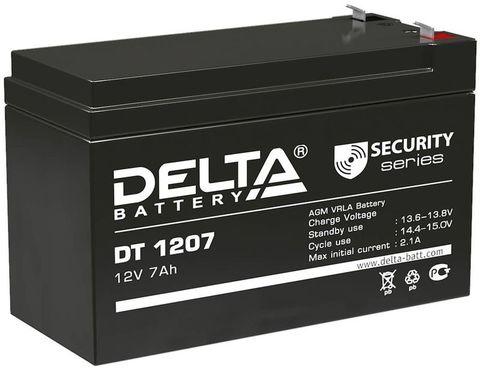 Аккумулятор Delta DT 1207 для опрыскивателя Комфорт (Умница) ОЭ-12, ОЭМР-16-Н, ЭО-16Н, ЭО-18Н, ЭО-20Н, ОЭМР-12, ОЭЛ-12