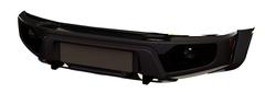 Бампер АВС-Дизайн передний UAZ Патриот/Пикап/Карго 2005- лифт Легкий-У (с оптикой)(черный)