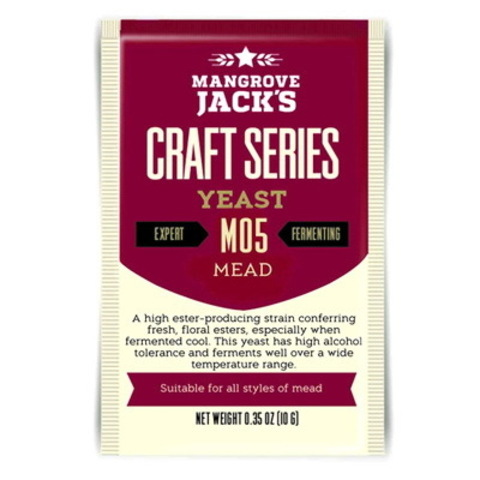 Дрожжи Mangrove jack's M05 Mead на 23 литра медовухи