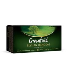 Чай Greenfield зеленый FLYING DRAGON 25 пакетов