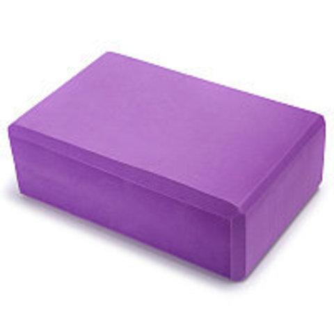 Yoqa üçün blok \ Блок для йоги \ Yoga block purple