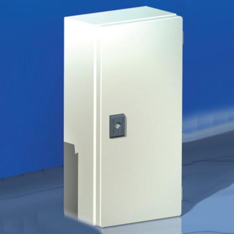 Сварной металлический корпус CDE, 400х200х80 мм, с дверцей,IP55