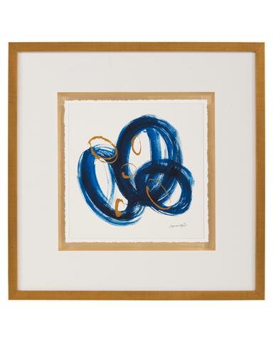 Dyann Gunter's Blue and Gold II