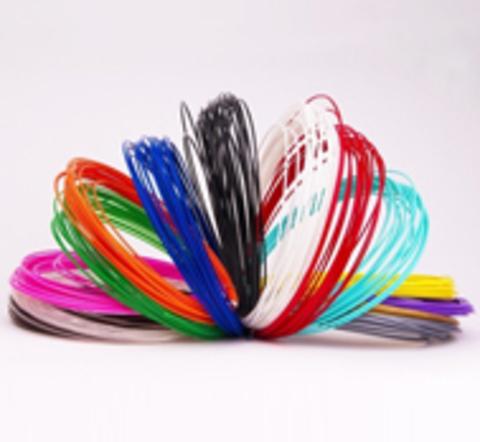Дропшиппинг - Наборы PLA для 3D ручки на выбор (15цв-60м, 15цв-120м, 15цв-180м)